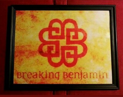 Breaking Benjamin Heavy Metal Hard Rock Band Framed Poster Art Print Gift