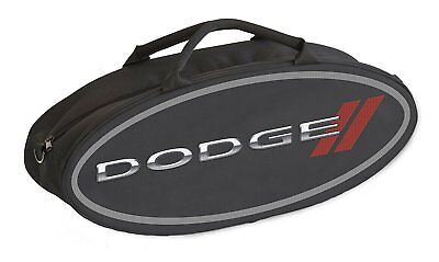 Goboxes 2001 Canvas Tote Bag with Dodge Logo, Black