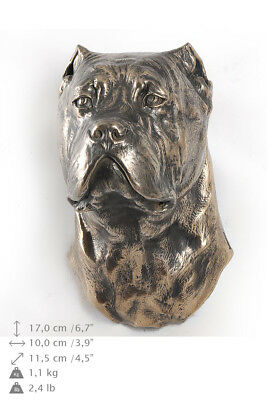 Cane Corso, dog statuette to hang on the wall, Art Dog Limited Edition, USA