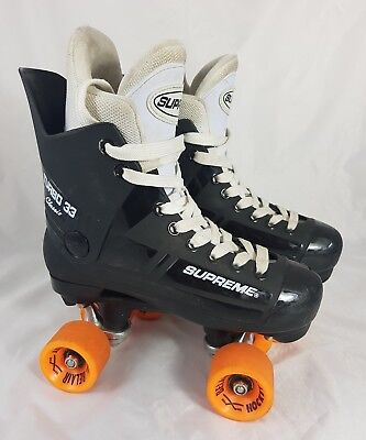 Supreme Turbo 33 Classic Roller Skates With Belair Hockey Wheels Size 38/UK 5