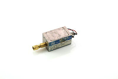 MITEQ RF AMFP-2B-2040-20 Amplifier 2 - 4 GHz SMA used