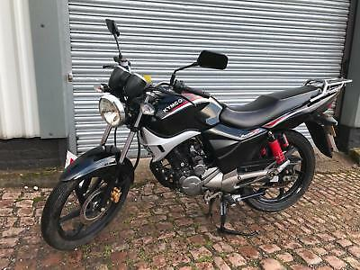 Kymco Pulsar S 125, 2013, Black, Geared motorbike, Delivery, Finance