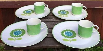 VIntage Sheffield Luncheon Set Cup Saucer