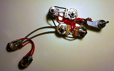 Rickenbacker 4001 4003 Bass Wiring Harness W Vintage Tone Option
