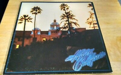 The Eagles Hotel California Vinyl Record Album 1976 Asylum 7E-1084