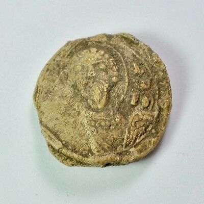 Ancient Lead Bale Seal.