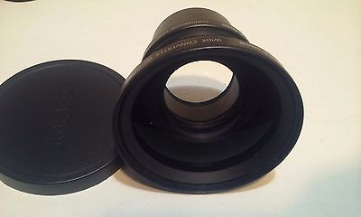 Canon WC-DC58 0.8X Wide Converter Lens with Adapter and Bag
