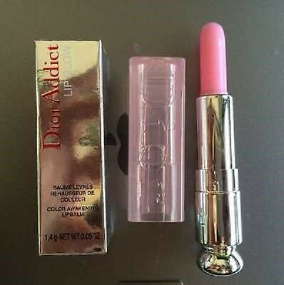 Dior Addict Lip Glow Color Awakening Lipbalm 001 Pink Boxed Genuine Gloss