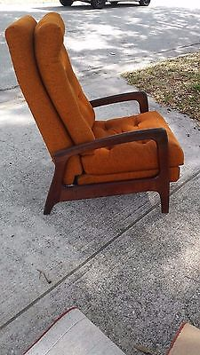 Adrian Pearsall Reclining Lounge Chair for Craft Associates 1960's