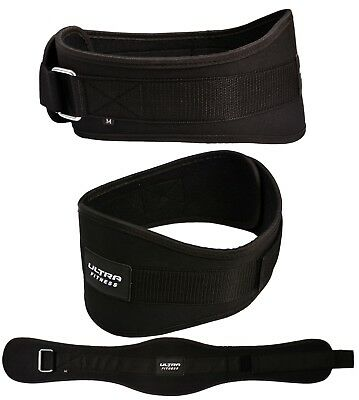 Weight Lifting Belt - Pro Quality Neoprene Back Support Gym strap power training