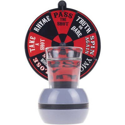 Hey! Play! Spin-the-Wheel Shot Glass Drinking Game Russian Game