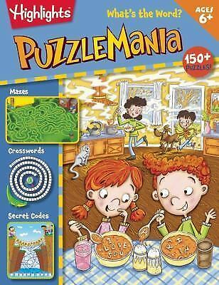 Highlights Puzzlemania: What's the Word? Puzzle, Activity Book (2015, Paperback)