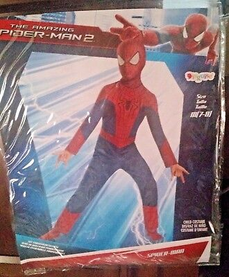 The Amazing Spider-Man 2 Size Medium 7-8 Costume Disguise Marvel