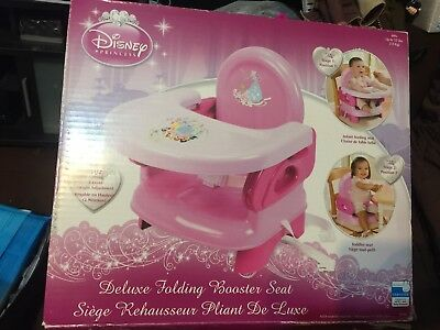 Disney princess Infant Deluxe Booster Seat used once