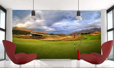 Beautiful Golf Course Full Wall Mural Photo Wallpaper Printing 3D Decor Kid Home