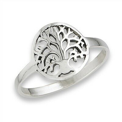 Sterling Silver Celtic Tree of Life SZ 6 ring