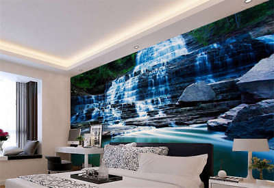Hamilton Waterfall Full Wall Mural Photo Wallpaper Printing 3D Decor Kids Home