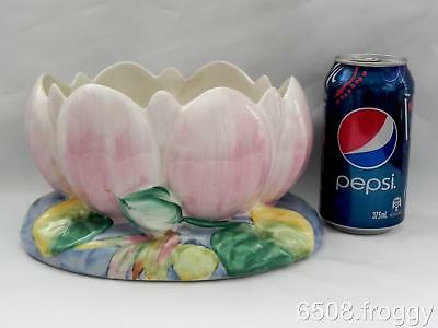 VIntage CLARICE CLIFF  Lotus - WATER LILY  Bowl - 973 - A/F