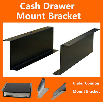 Cash drawer Till Under Counter Bracket POS Mount Kits