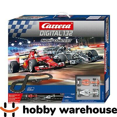 Carrera Digital 132 Night Contest Slot Racing Set