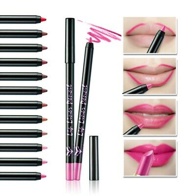 Waterproof Lipstick Set Long Lasting Matte Lip Gloss Makeup Liquid Lipliner Pen