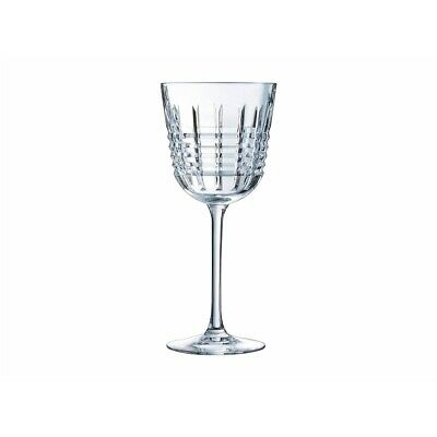 Cristal D'Arques Rendez-Vou Set of 6 350ml Wine Glass Gift Boxed Brand New