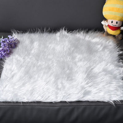 Baby Soft Plush Blanket Newborn Baby Photo Props Photography Carpet 50*50CM US
