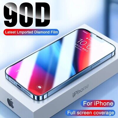 3x Full Coverage 3D Premium Tempered Glass Screen Protector Fr iphone 6 6S 7Plus