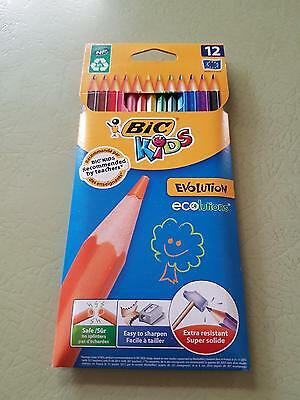 Bic Kids Coloured Pencils - Pack of 12