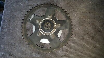 suzuki gsx 250f across rear sprocket and hub