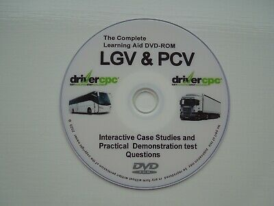 Driver Cpc Pcv & Lgv Learning Course Module 2 And Module 4.