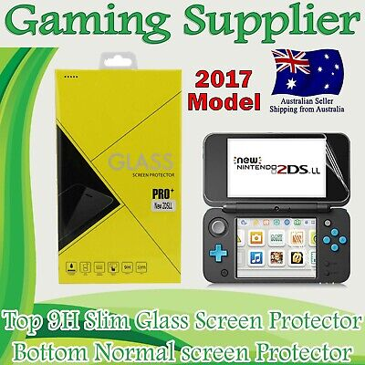Tempered Glass LCD Screen Film Protector Guard For Nintendo New 2DS LL/XL 2017