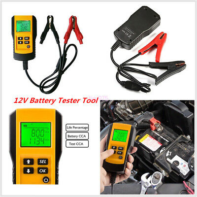 Digital LCD 12V Car Battery Tester Automotive Battery Load Analyzer Tool AE300