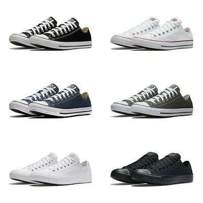 New Converse Chuck Taylor All Star Low Top Sneakers Original Canvas Shoes Men