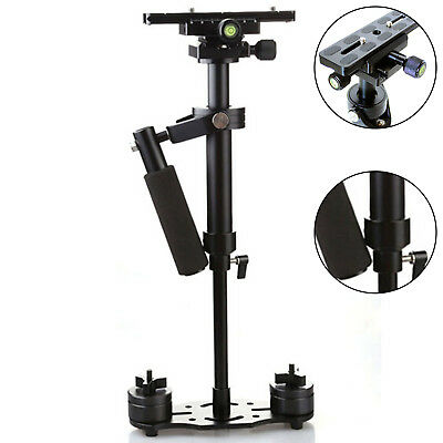 S40 Pro Handheld Stabilizer Steadicam for Camcorder Camera Video DV DSLR Black