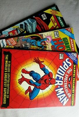 Marvel Treasury Comics x3. #1,'Spiderman'. 1974. Fine/6.0