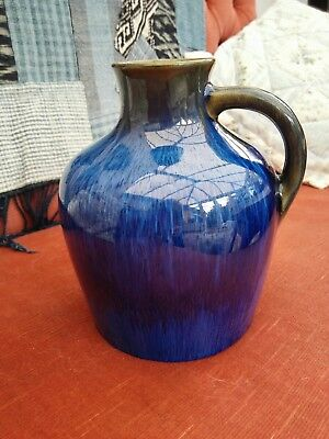 Denby Danesby ware Electric blue vase