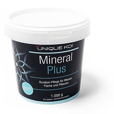 TT15.68€/kg Unique Koi Mineral Plus 1000 g for sane and stable water equivalent