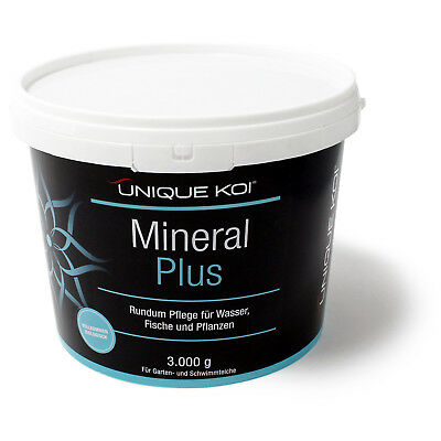 TT7.88€/kg Unique Koi Mineral Plus 3000 g for sane and stable water equivalent