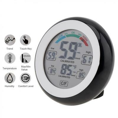 Touch SN226 LCD Digital Thermometer Humidity Measurement with Magnets Hange