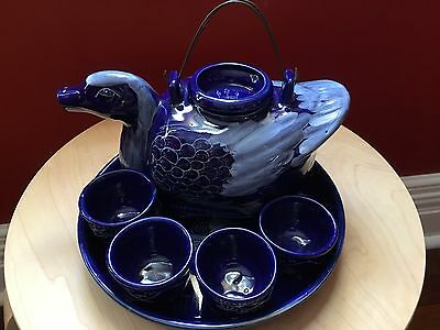 Unusual Tea Set