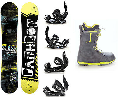 Snowboard Pathron Slash Carbon + Raven Bindungen + Boots Raven Team - Neu!