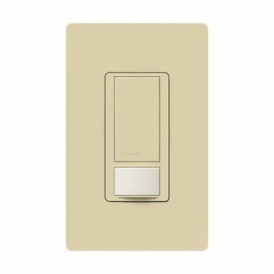 Lutron MS-OPS2H-IV Maestro Single Pole Small Room Occupancy Sensor Switch, Ivory