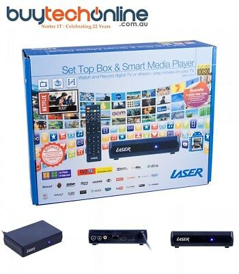 Laser Android 4K QC Smart Media Player MMC-B15 Full HD, WITH DVB-T2