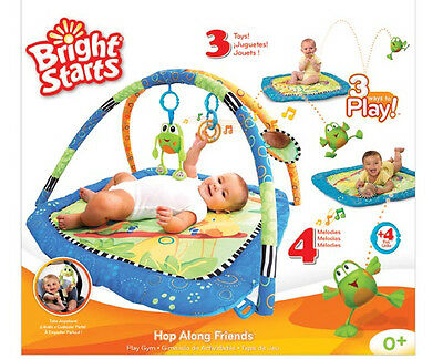 New Bright Starts Baby Playmat Musical Playgym Play mat Play Gym