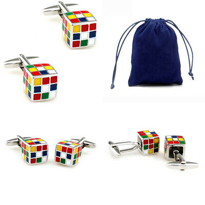 30 Designs Classic Cufflinks With Velvet Bag TZG Cuff Links Big Promotion