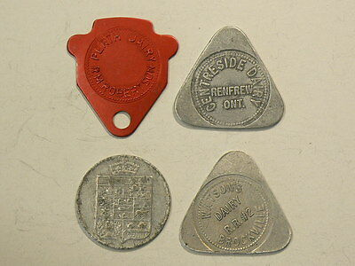Ontario Dairy & Bakery Tokens, Renfrew, Dominion, Perth & Brockville #G7363