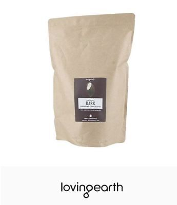 2 x 1kg LOVING EARTH Dark Drinking Chocolate ( Total 2kg )