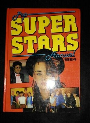 Pop Superstars Annual 1984 Vintage/Retro Hardback Book
