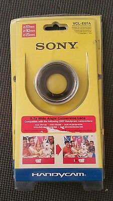 Sony Handycam Camcorders CL-E07A x0.7 Wide End Angle Conversion Lens